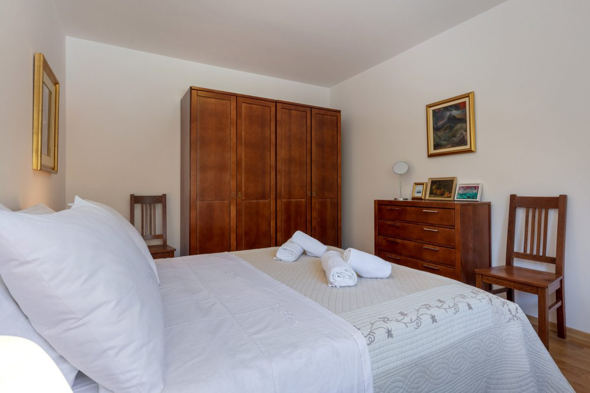Double bedded room in the Villa Roglic